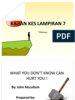 WHAT YOU DON'T KNOW CAN HURT YOU !