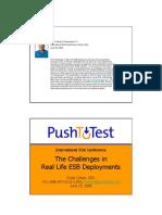 TTI - ESB Challenges