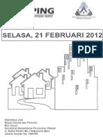 Scan Kliping Berita Perumahan Rakyat dari Media Cetak, 21 Feruari 2012