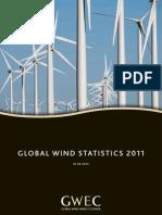 GWEC - Global Wind Statistics 2011