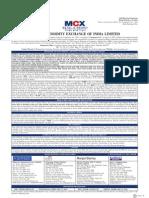 IPO - MCX Prospectus
