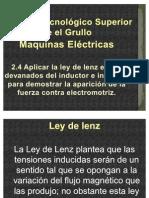 2.4 Aplicar La Ley de Lenz en Los Devanados Del Inductor ......