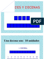 Unidades y Decenas Power Point