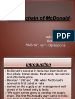 Food Chain of McDonald