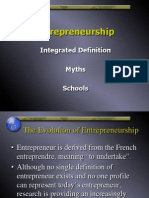 Entrepreneurship - Defined