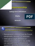 Entrepreneurship - Defined