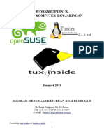 Modul Workshop Linux OpenSuSE