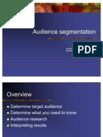 Audience Segmentation