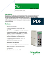 Data Sheet - 499n Unmanaged Switch