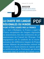 Charte régionale
