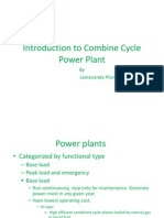 Introduction to Combine Cycle Power Plant 1 - By Leel