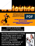 Modern Techniques. in Nursing Administration Ppt