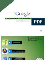 Congressional Scholarship Programs
