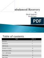 An Unbalanced Recovery