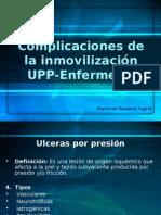 Complicaciones de La Inmovilización UPP ENFERMERIA