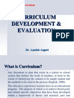 Curriculum Development & Evaluation  * Dr. Azadeh Asgari