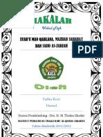 Syar'u Man Qablana, Mazhab Sahabat dan Sadd as-Zari'ah PDF