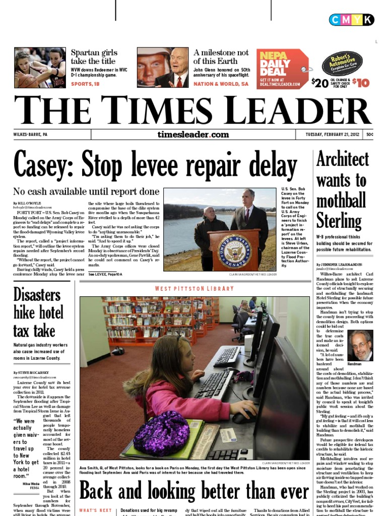 Times leader 02 21 2012 wilkes barre lent fandeluxe Image collections