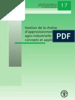Gestion de La Chaine d'Approvisionement Agro-Industrielle