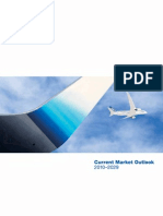 Boeing Current Market Outlook 2010 to 2029