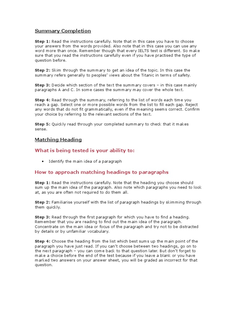 Ielts Practice For Reading   Question   Multiple Choice