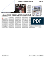 Avvenire - Quei processi anomali, di Paolo M. Alfieri, 21/02/12