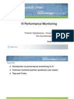 VI Performance Monitoring