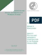 Mpi Eth Working Paper Sokolovski