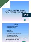 Analisa Aliran Daya Penyulang / Feeder Distribusi