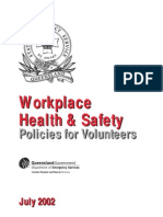 Workplace Health and Safety Policies for Volunteers (Intro)