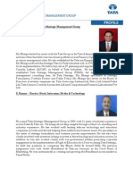 Profiles of Spokespersons