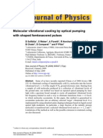 D.Sofikitis et al- Molecular vibrational cooling by optical pumping with shaped femtosecond pulses