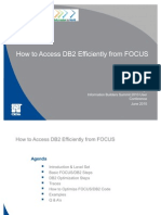 201011 FUN How to Access DB2 Efficiently From FOCUS