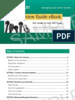 SAMPLE Myambition.com eBook Job Interview Guide
