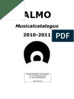 Musical Catalogus 2011-2012