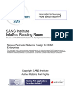 Secure Perimeter Network Design Giac Enterprises 1622