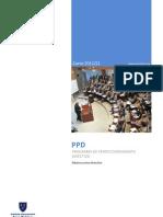 Programa de perfeccionamiento directivo