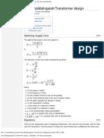 User_Msiddalingaiah_Transformer Design - Wikipedia, The Free Encyclopedia