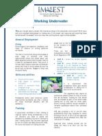 Working Underwater