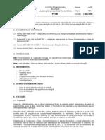 PR-080 - Calibração de Micrometro Externo - Nivel Basico