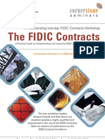 Cornerstone Seminars Fidic Contracts[1]