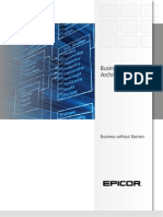 Epicor Business Architecture