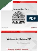 Eduberry Ppt for IIMA