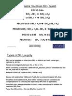 Basic PECVD Plasma Processes