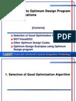 12 GBM Code Optimum Design