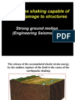 Earthquake Strong Motions