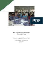 Fair Trade Study