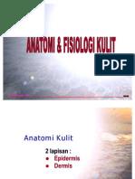 Anatomi Fisiologi Dan Effloresensi Kulit
