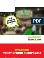 ICT Spring Europe 2012 Brochure
