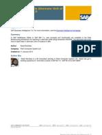 Reporting Data in Alternate Unit of Measure in BI 7.0